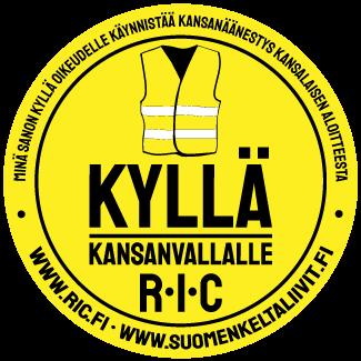 Suomen Keltaliivit – RIC Logo